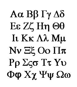 Grécka abeceda - najťažšie jazyky