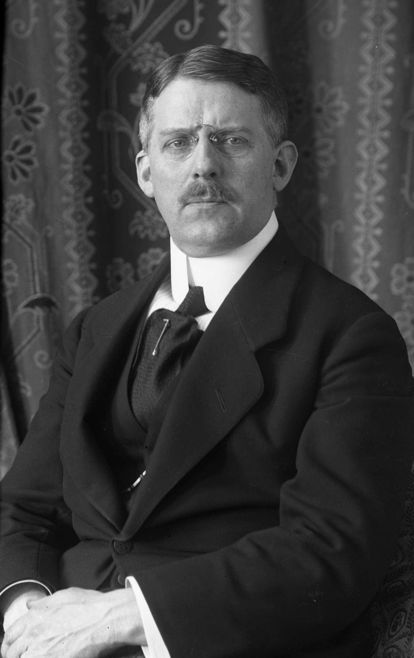 Image of Gustav Borgen from Wikidata