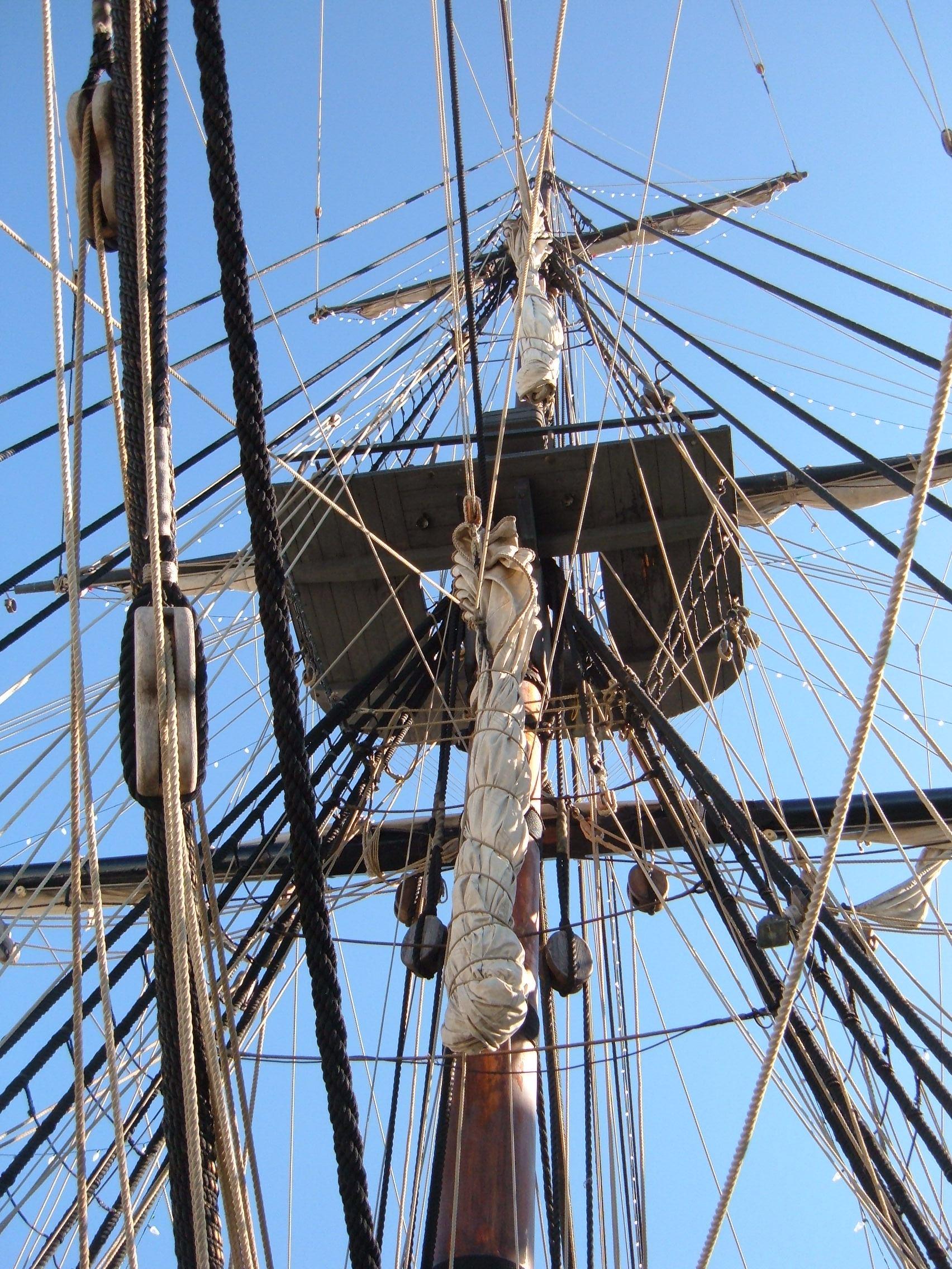 Filehms surprise replica ship mast 2g wikimedia commons filehms surprise replica ship mast 2g sciox Gallery