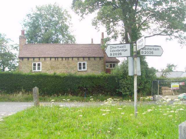 Hosey Common signpost - geograph.org.uk - 34593
