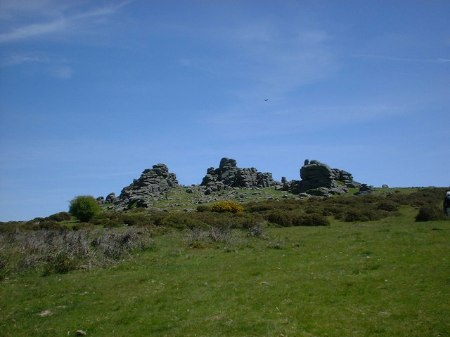 Hound Tor - geograph.org.uk - 943425