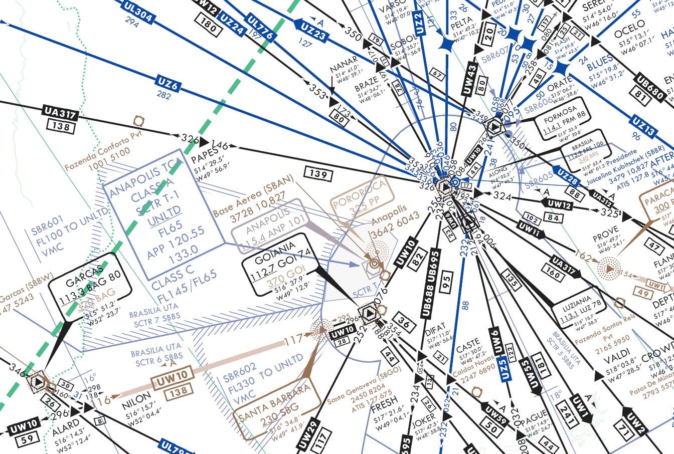 File ifr high altitude en route chart brasilia uw2 uz6