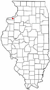 Location of Oak Grove, Illinois