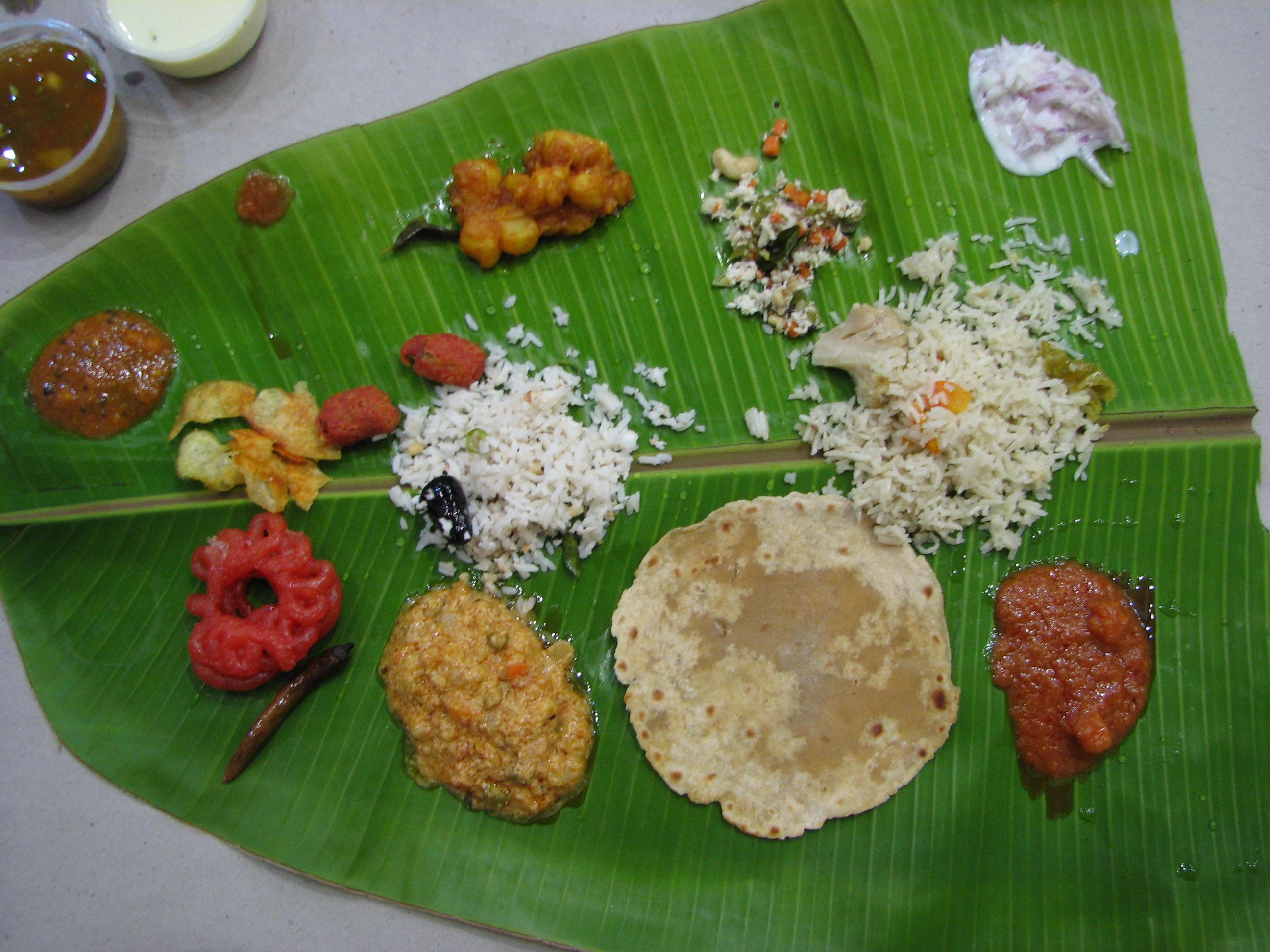 Kerala Foods List