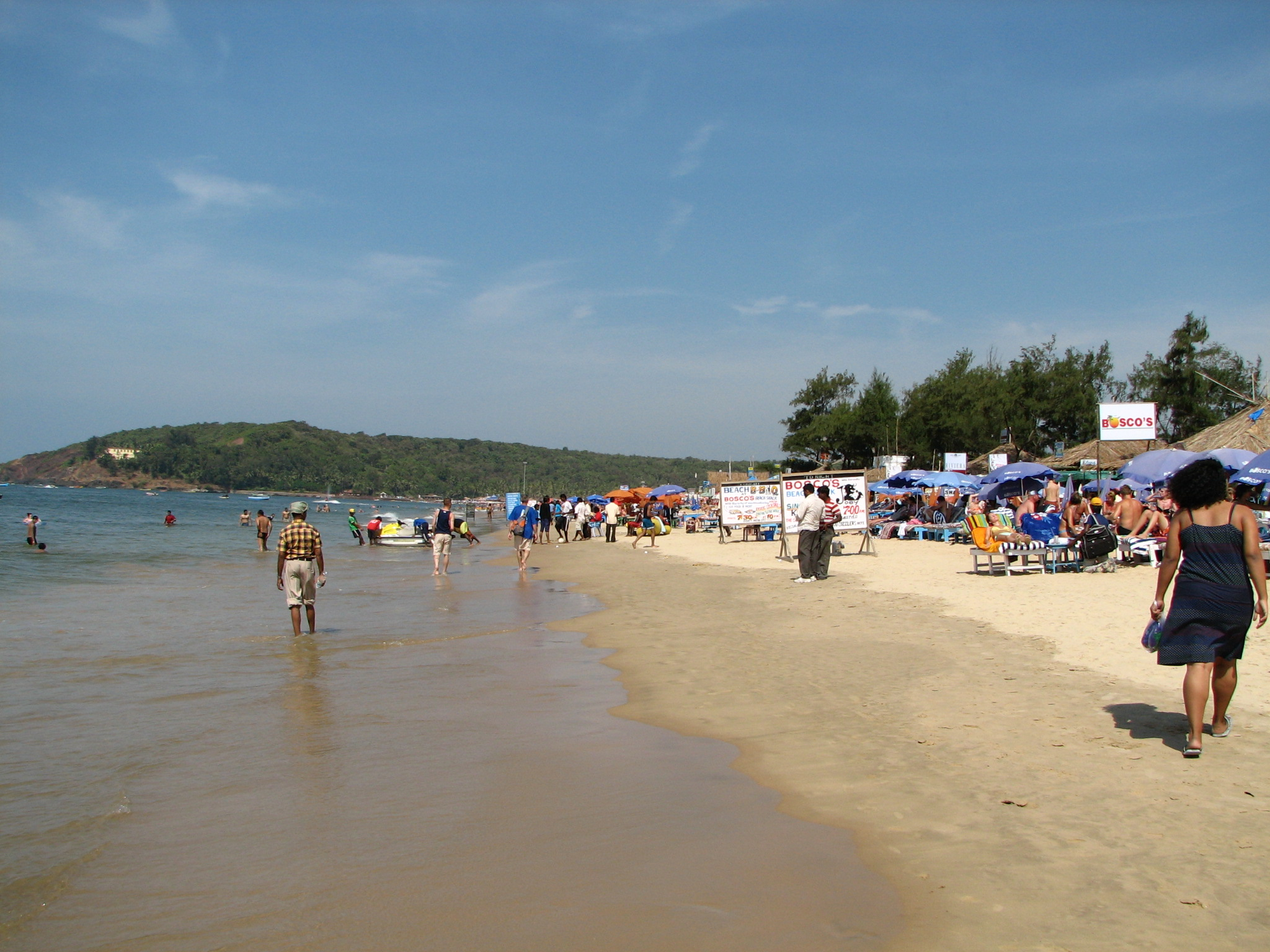 Baga Beach at Goa