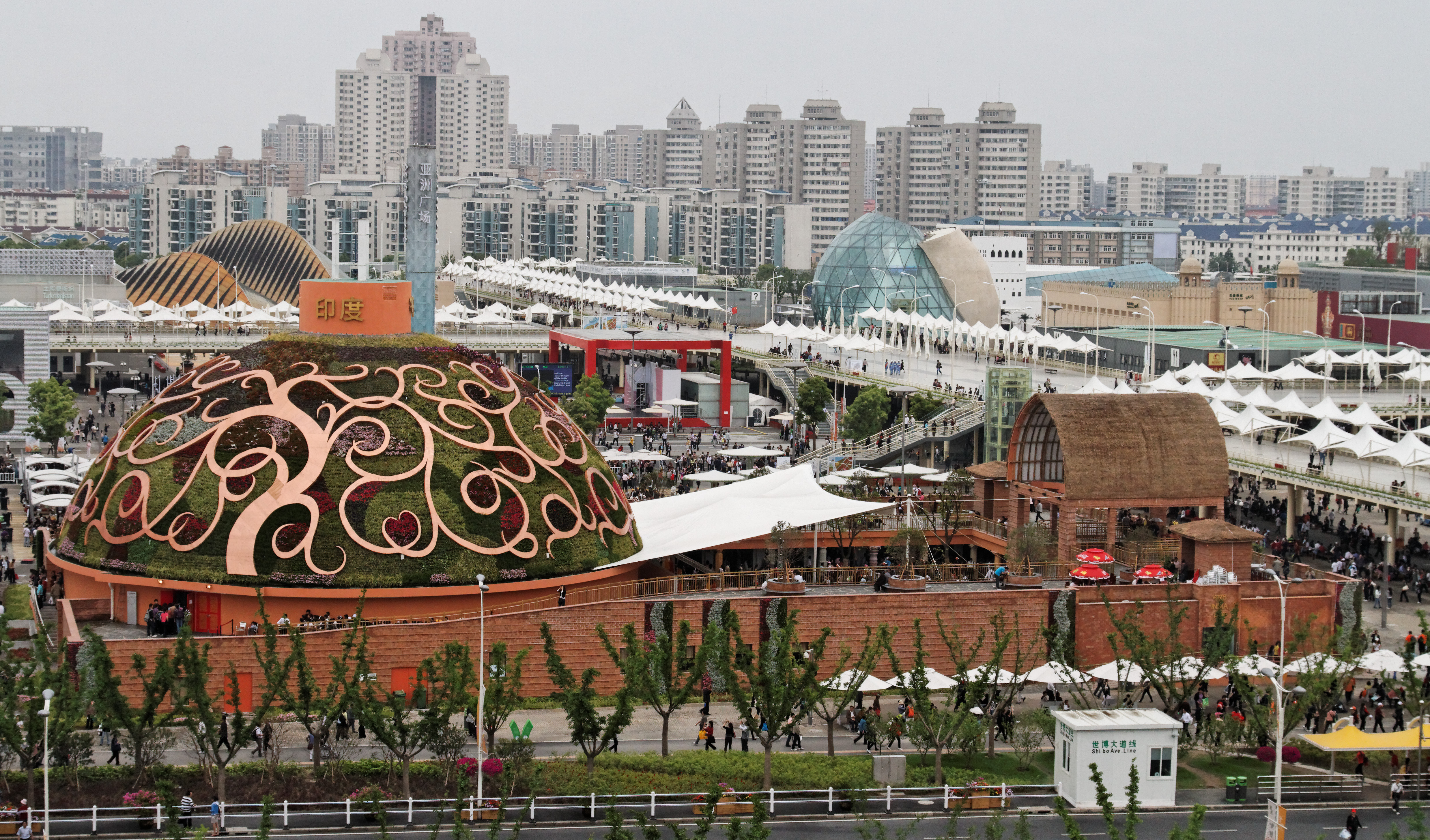 File india pavilion from expo culture for Expo 2010 pavilions