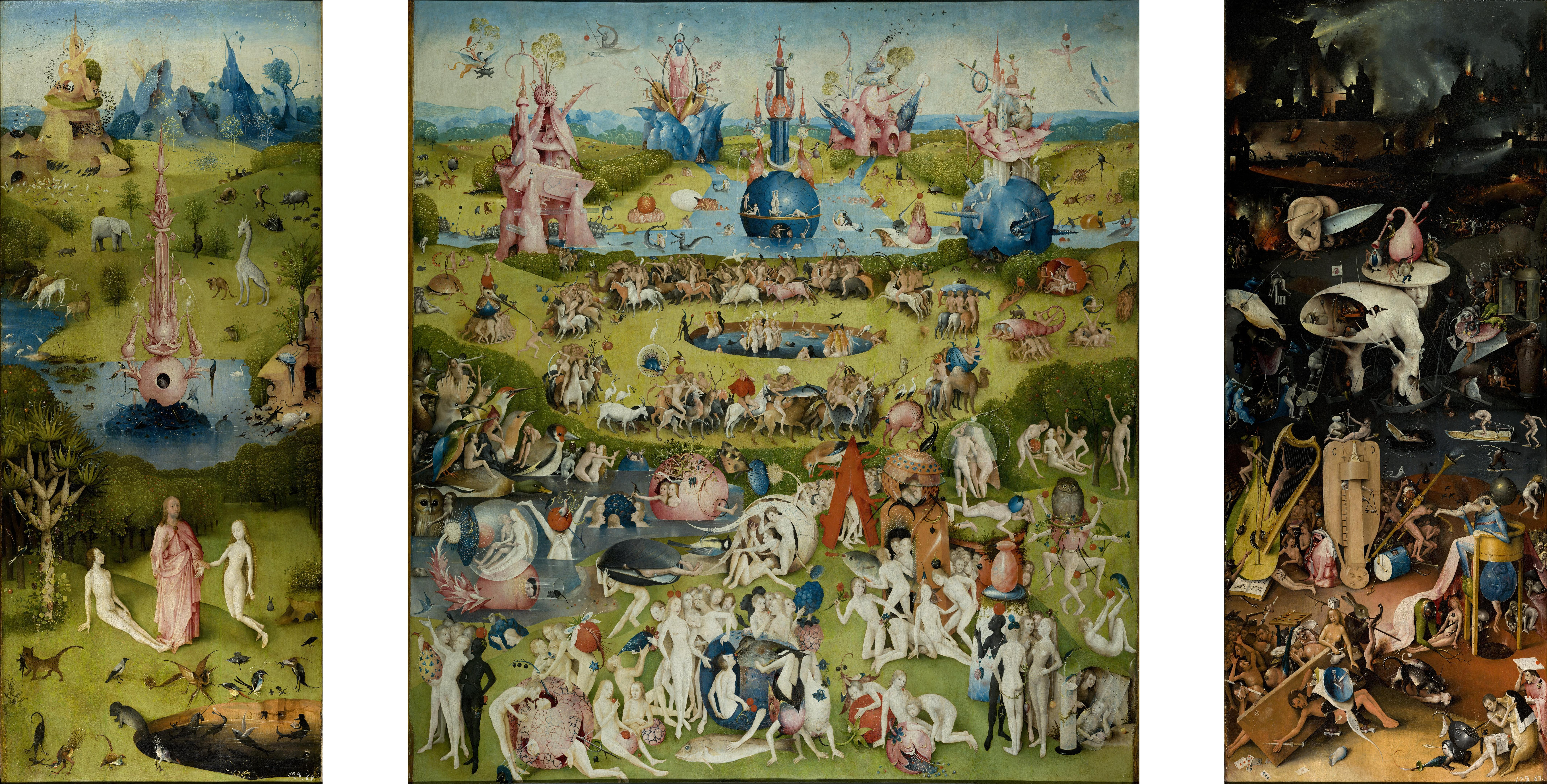 Hieronymus Bosch Morality And Monsters Daydream Tourist