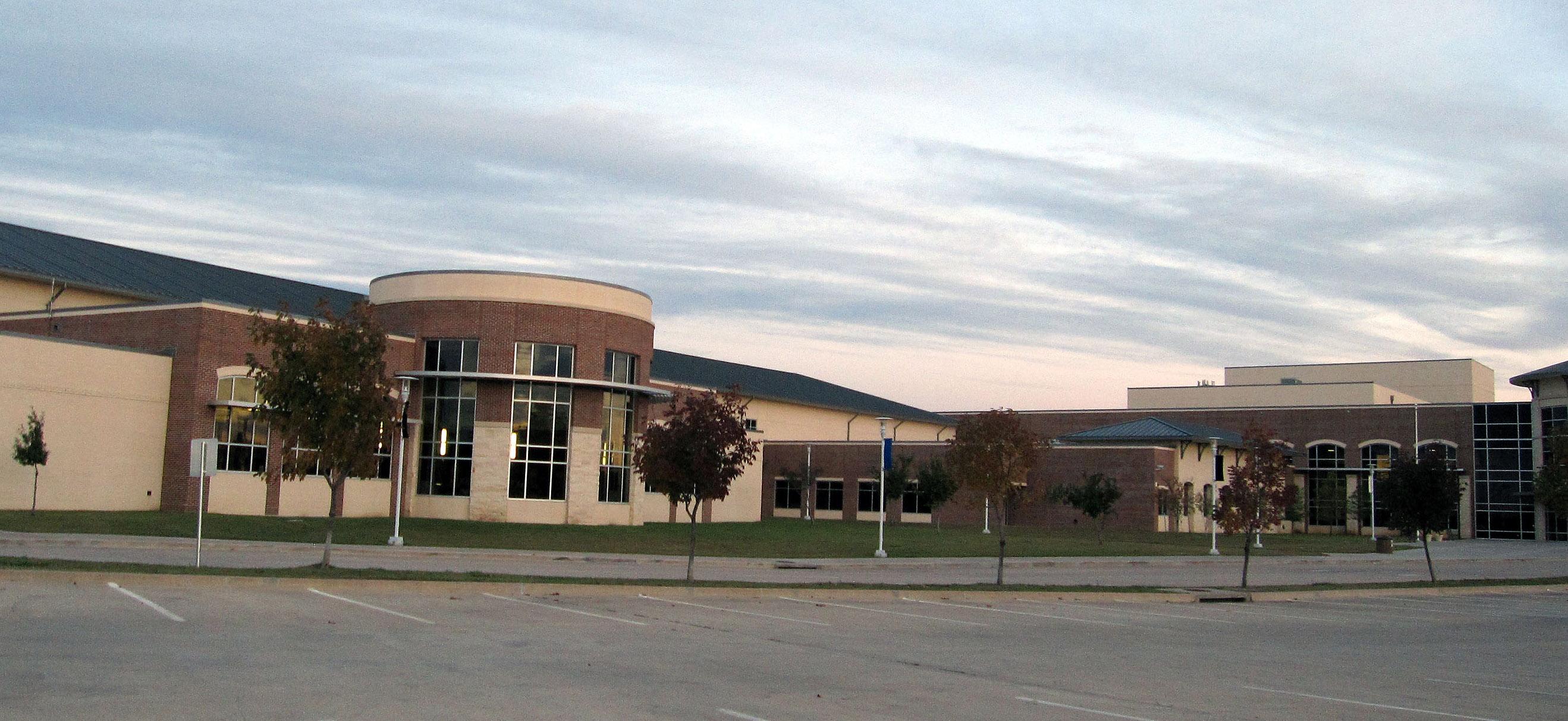 ... Photo taken at Guyer High School by John C. on 10/16/2015 ...