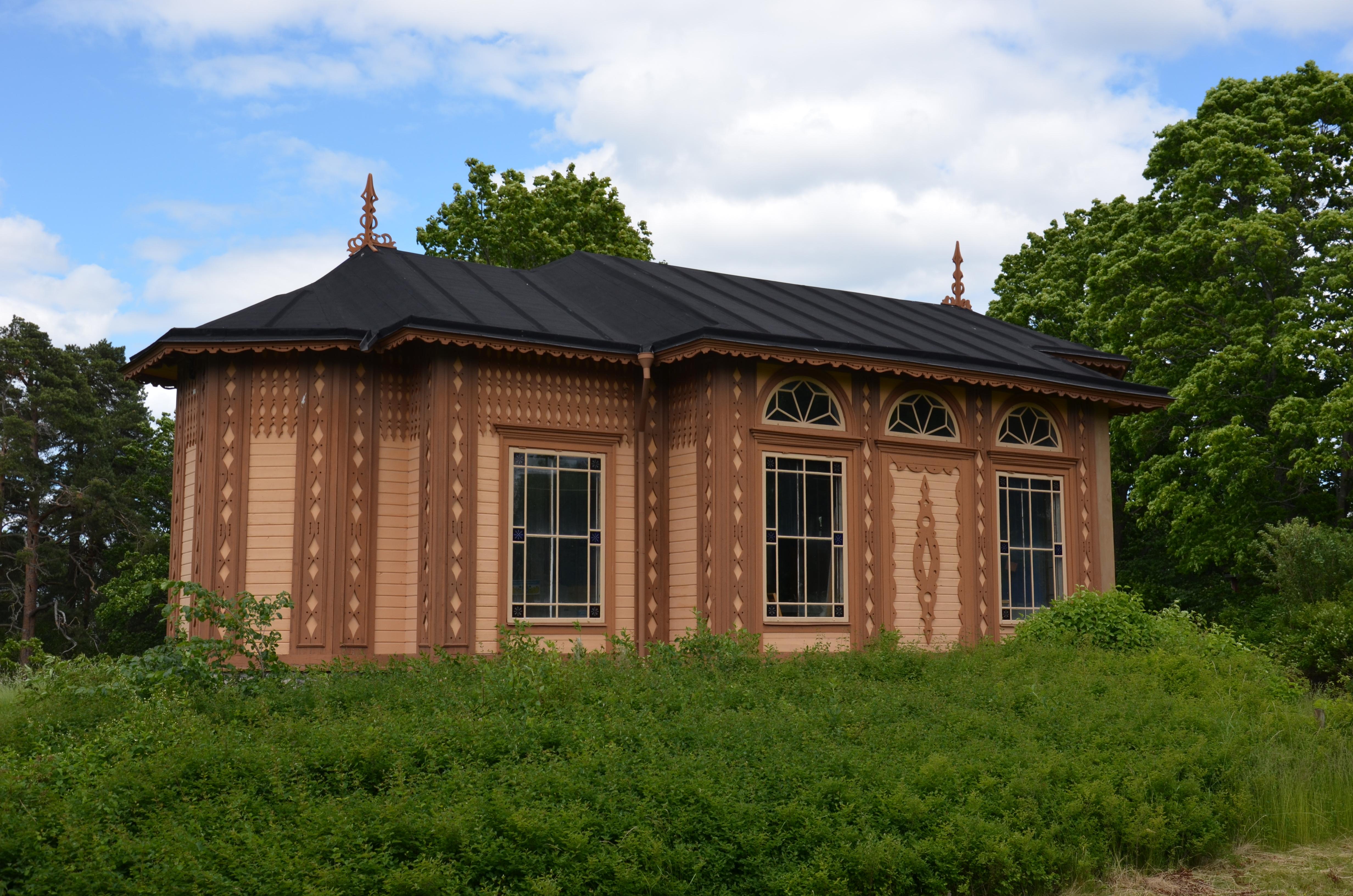 Armeniska kapellet, Övrejärva gård, Solna