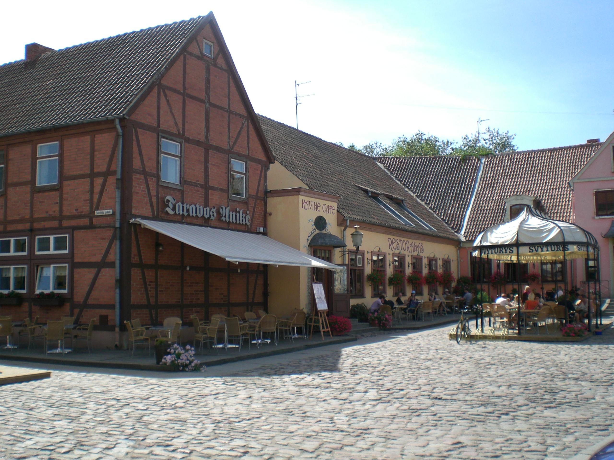 Theaterplatz in Klaipėda, Litauen