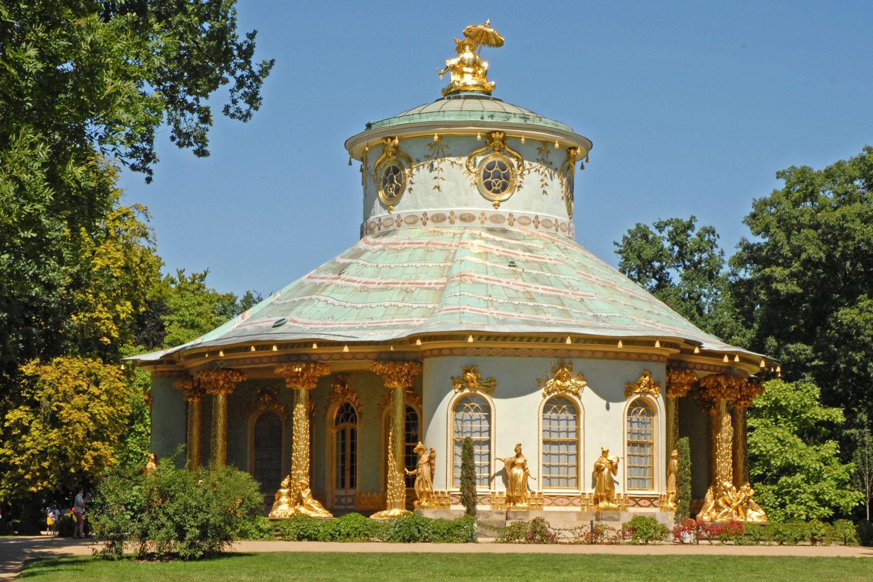 File La Maison Chinoise Parc De Sans Souci Potsdam