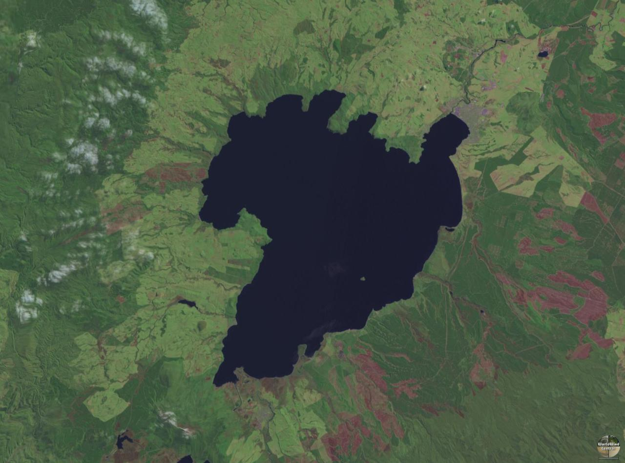 Oruanui New Zealand  city pictures gallery : Lake Taupo Huka Falls & Turangi, Tourism New Zealand