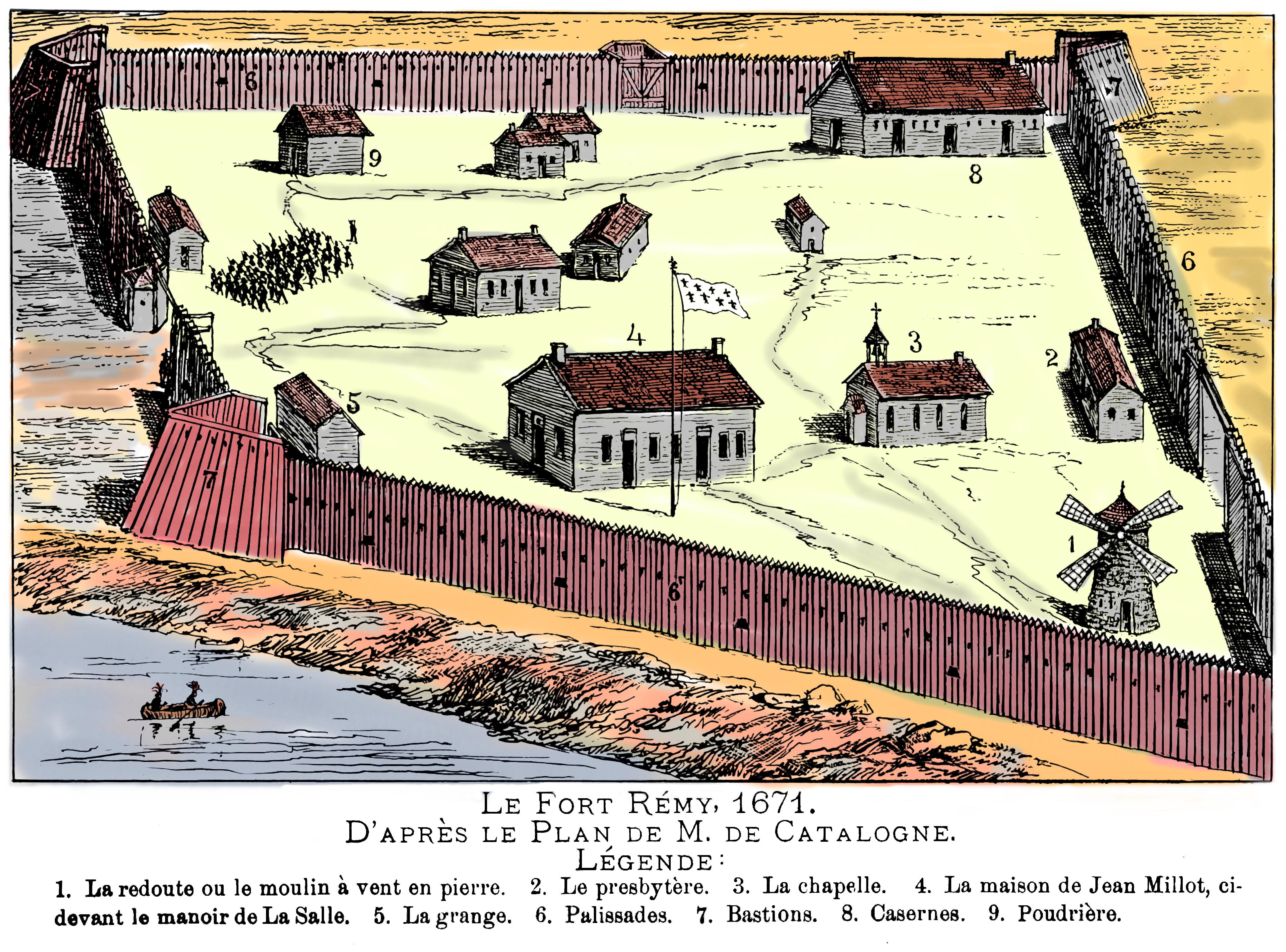 Maison De La Salle fil:le fort rémy en 1671 – wikipedia