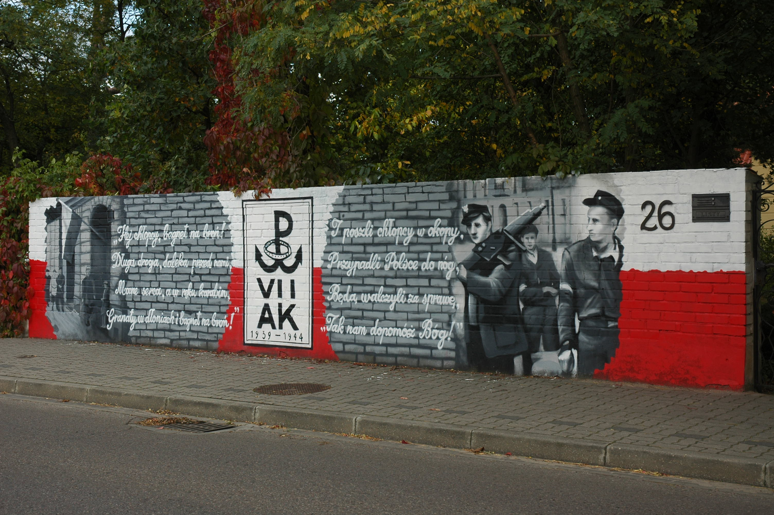file legionowo mural powstanczy rog batorego i
