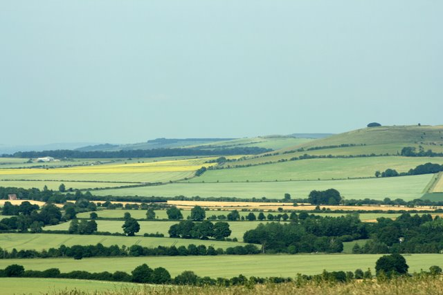 Liddington Castle from Barbury Country Park - geograph.org.uk - 1655854