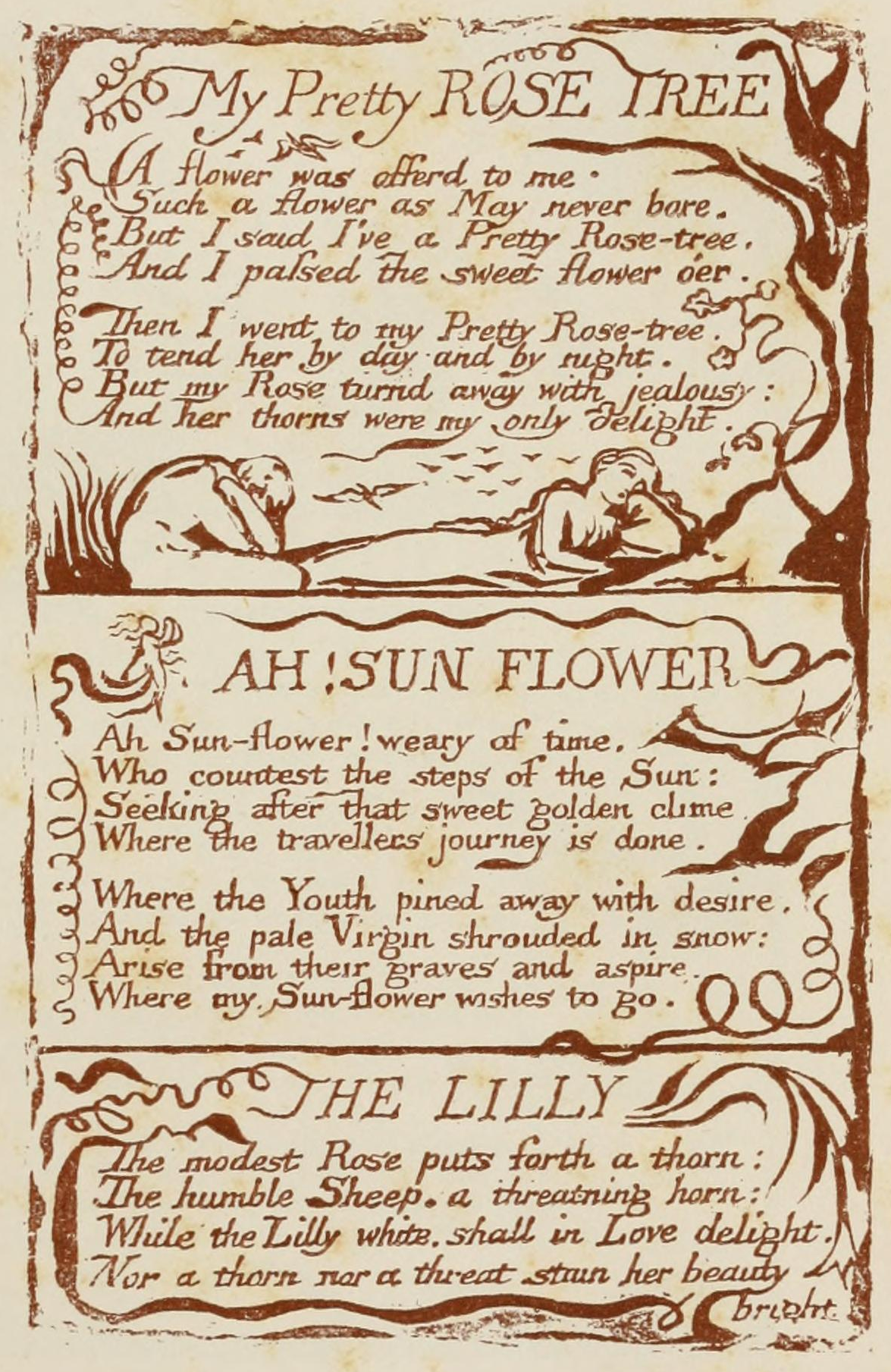 innocence and experience in william blakes poetry The project gutenberg ebook of songs of innocence and songs of experience, by william blake this ebook is for the use of anyone anywhere at no cost and with almost no restrictions whatsoever.
