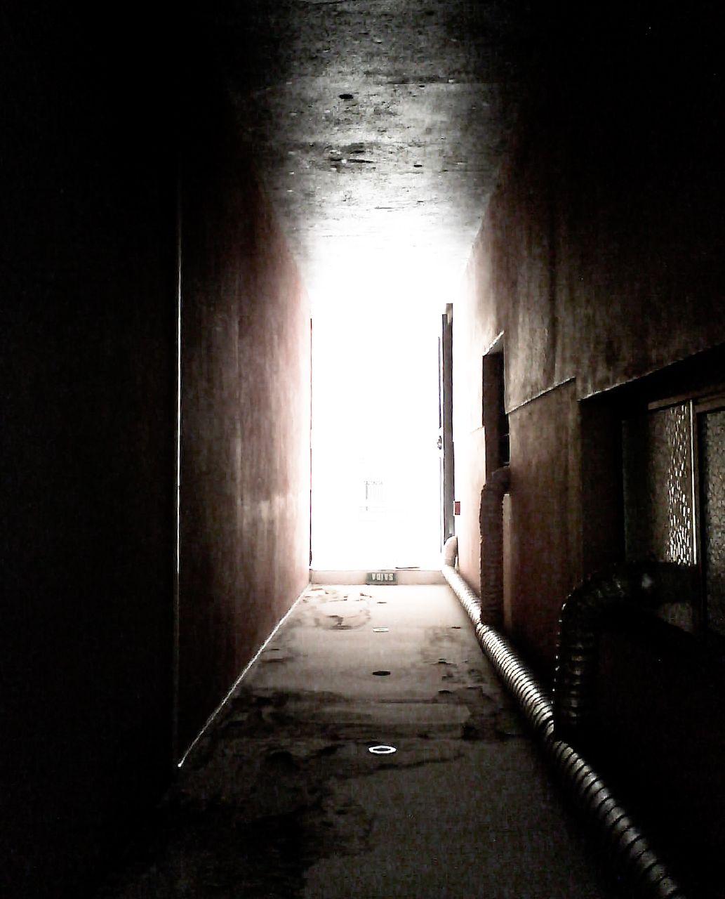 Light From Hallway Lighting Up Room