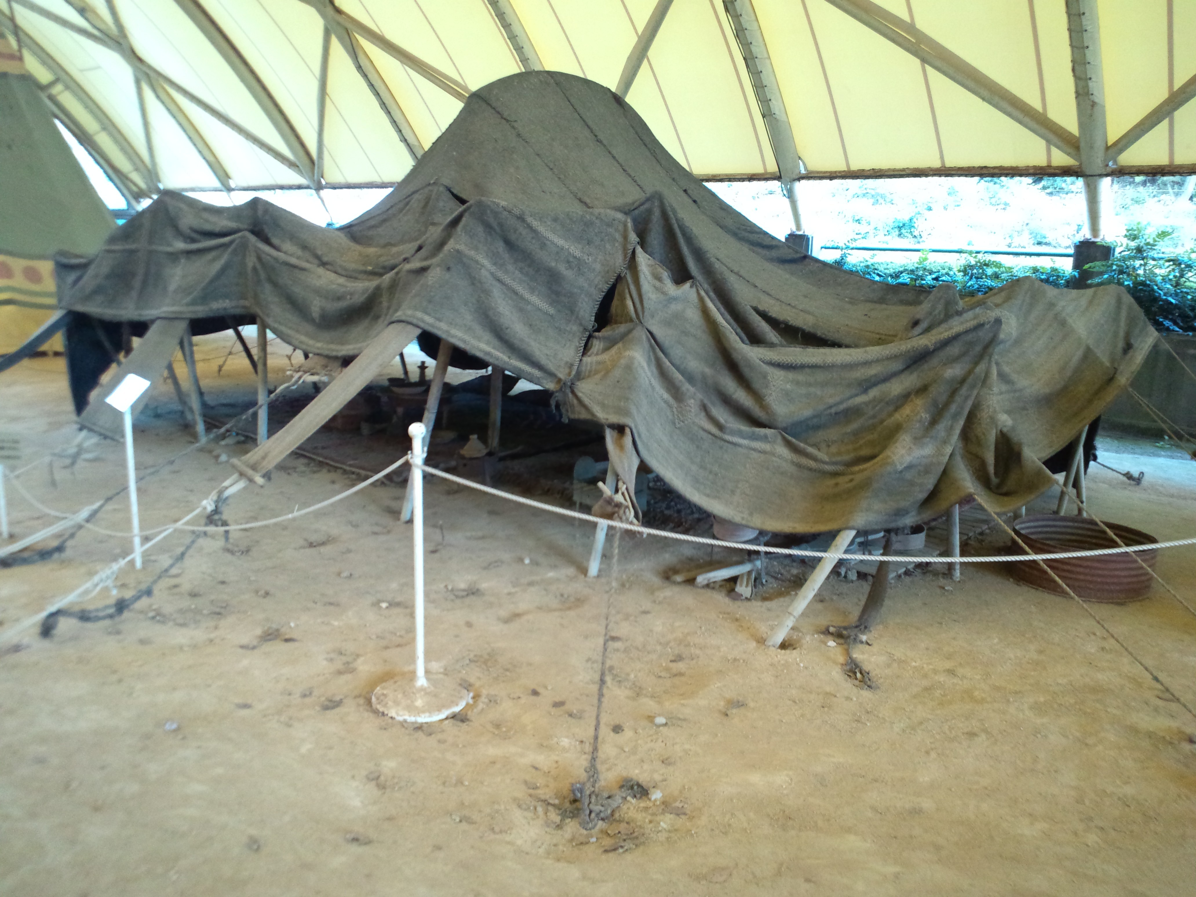 file little world aichi prefecture tent village berber tent in