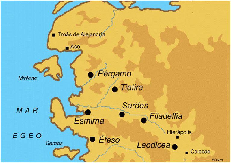 Las Siete Iglesias Del Apocalipsis Wikipedia La
