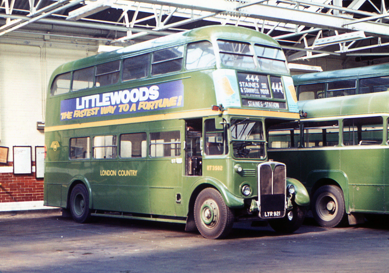 File London Country Bus Rt3502 Lyr 921 1972 2 Jpg