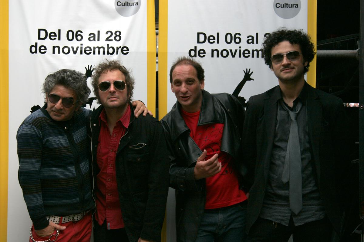Los Tipitos en 2010. De izquierda a derecha: Raúl Ruffino, Walter Piancioli, Federico Bugallo y Pablo Tévez.