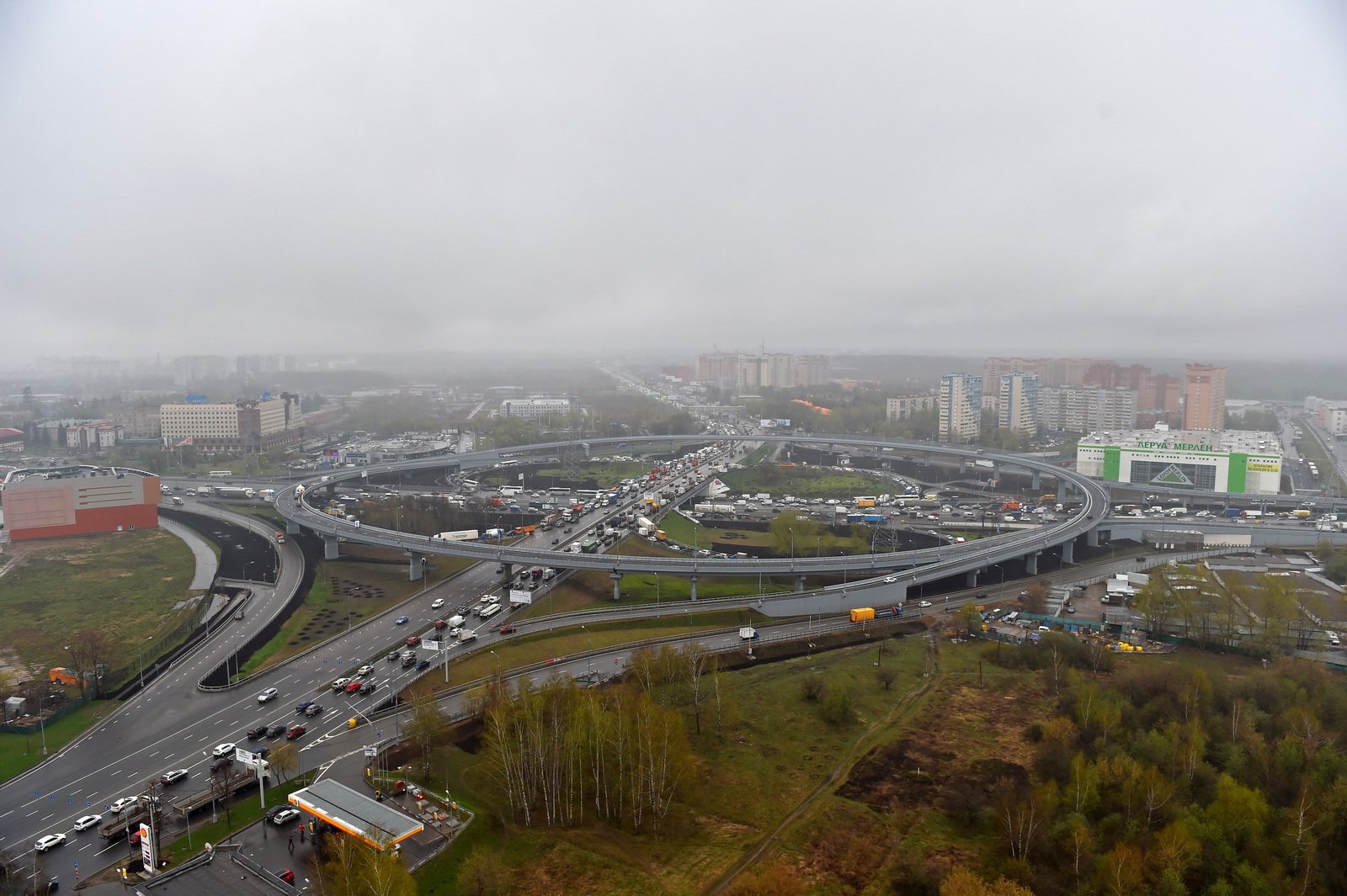 Moscow ring road. The length of the Moscow Ring Road and its history 65