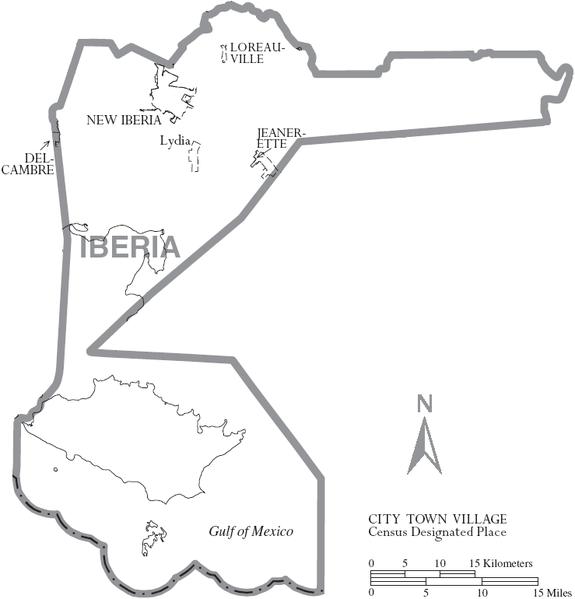Iberia Parish, Louisianaiberia parish