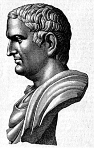 marc antony of rome. He met Mark Antony who was
