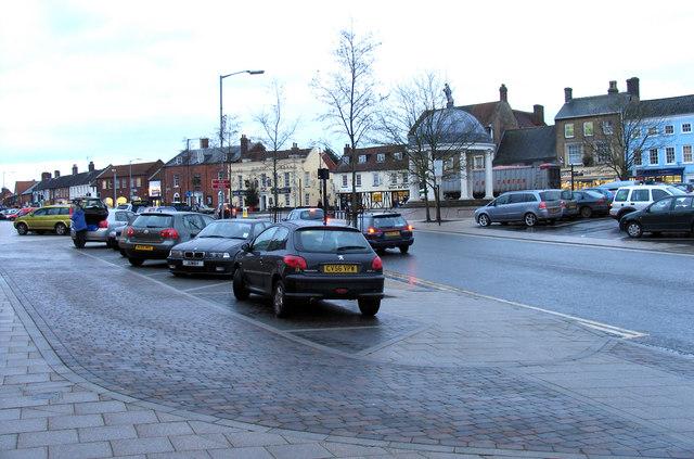 Market Place, Swaffham - geograph.org.uk - 307317