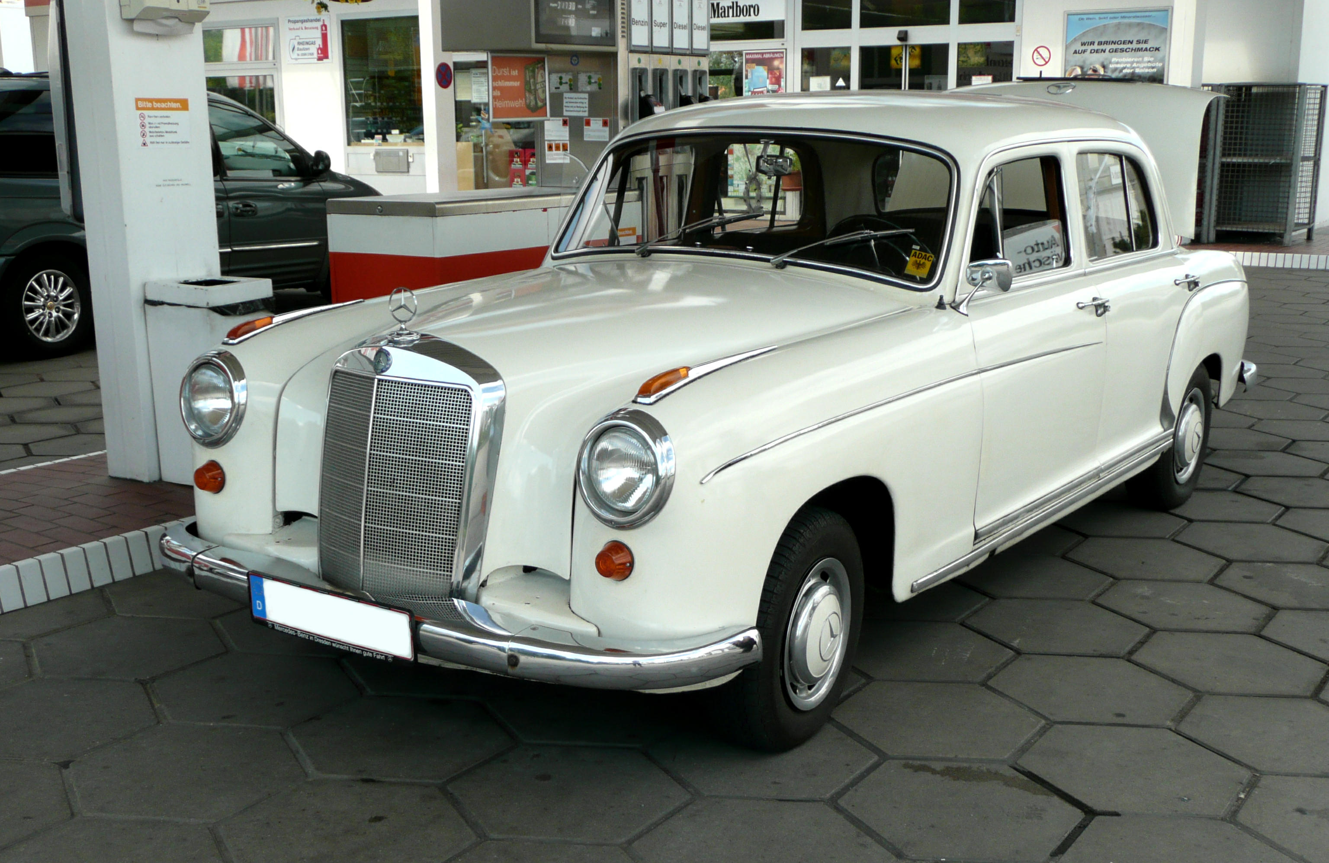 Mercedes benz w128 for The mercedes benz