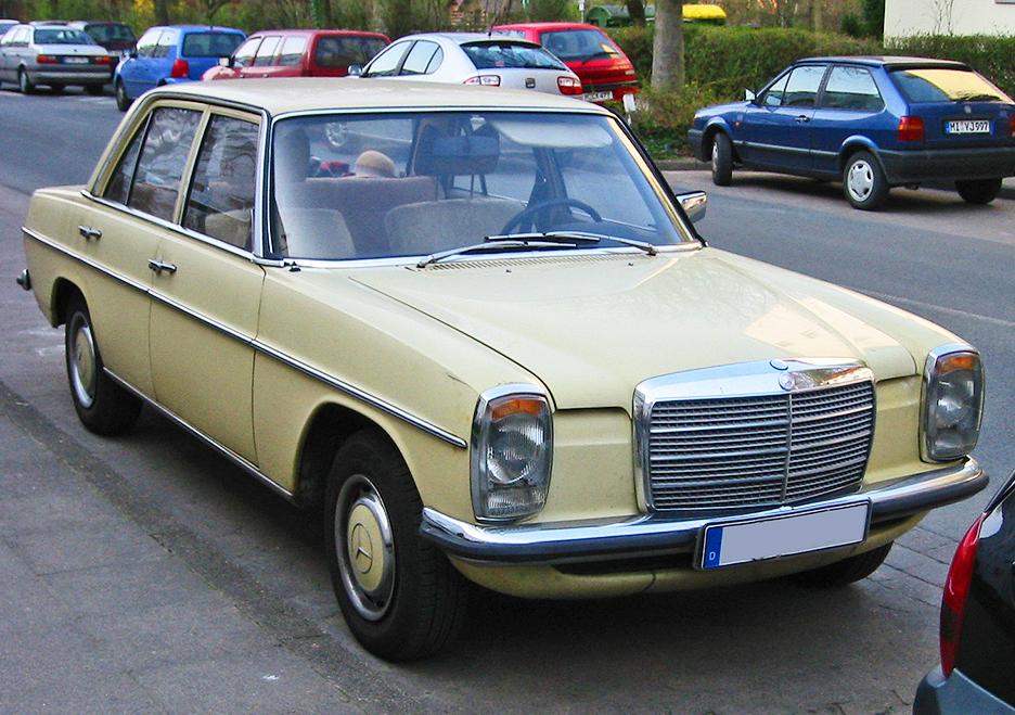Mercedes Benz W114 W115 Wikiwand
