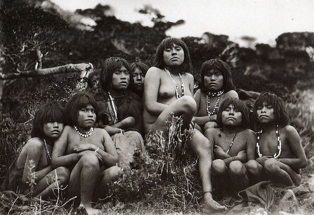 Yahgan - Popolazioni indigene della Terra del Fuoco