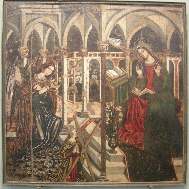 File:Museo regionale di messina, giovanni d'anglia, annunciazione con sant'