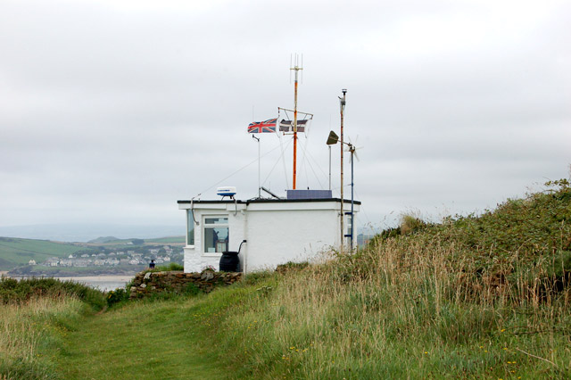 NCI lookout station on Stepper Point - geograph.org.uk - 1466238