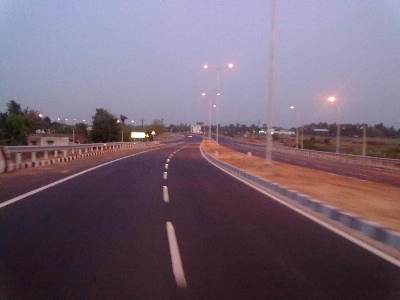 NH 67 in Thanjavur City