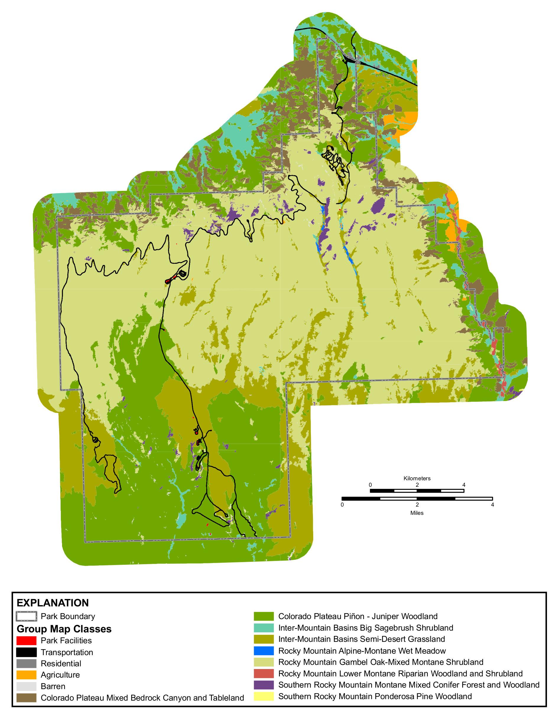 FileNPS mesaverdevegetationmapjpg Wikimedia Commons