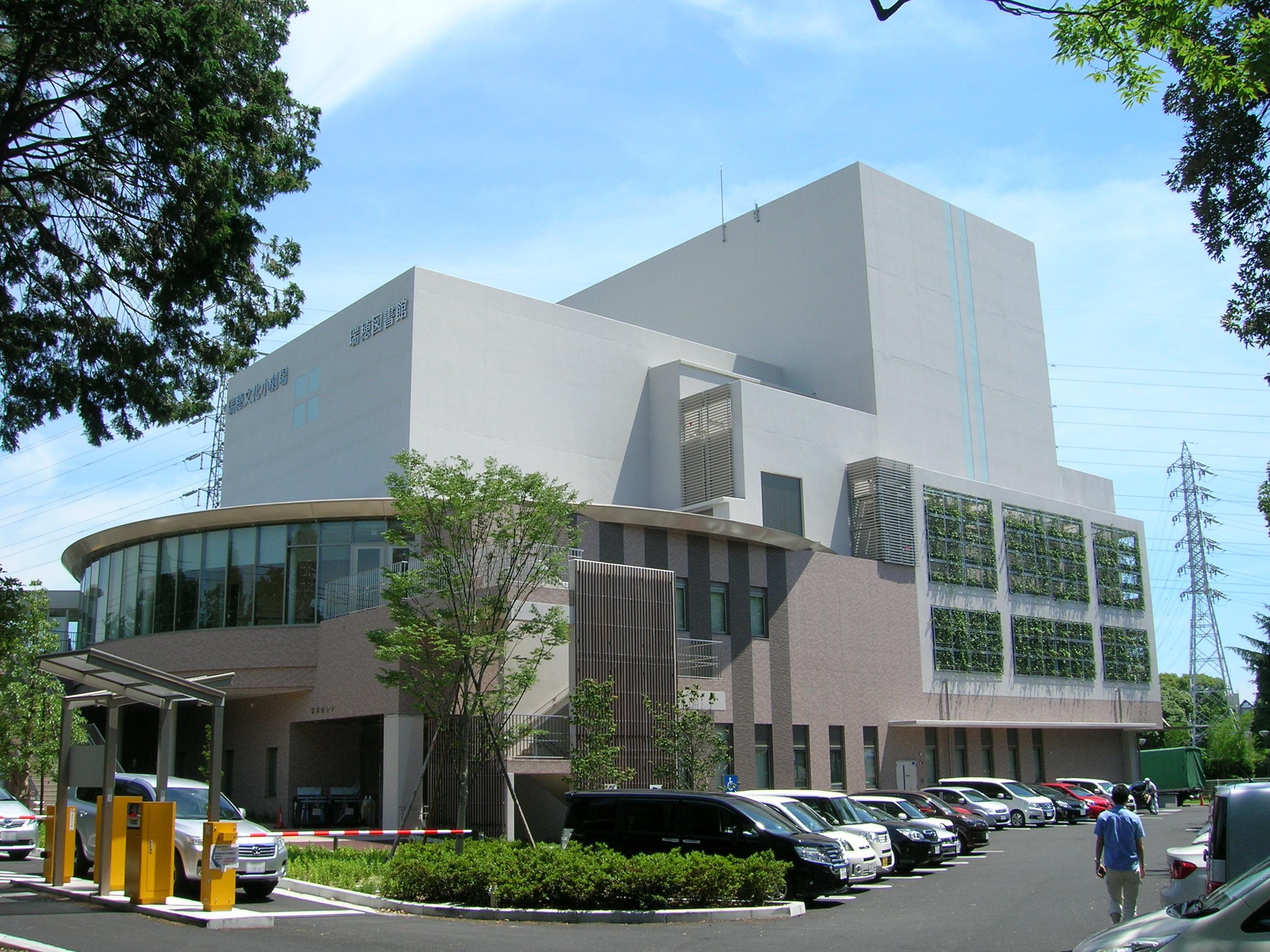 大きな立派な図書館