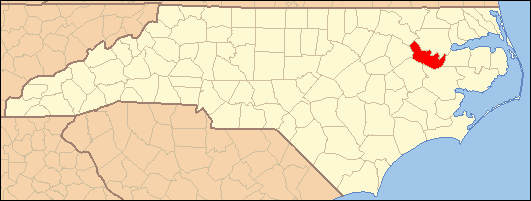Martin County Nc Map.National Register Of Historic Places Listings In Martin County