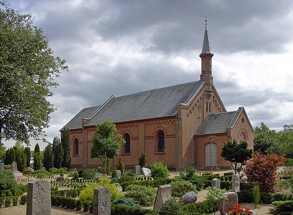 Obbekjær Kirke - Wikipedia, den frie encyklopædi