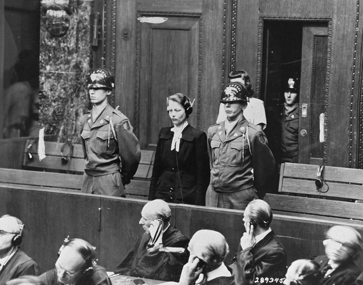 herta oberheuser oberheuser is sentenced to 20 years imprisonment at the doctors trial