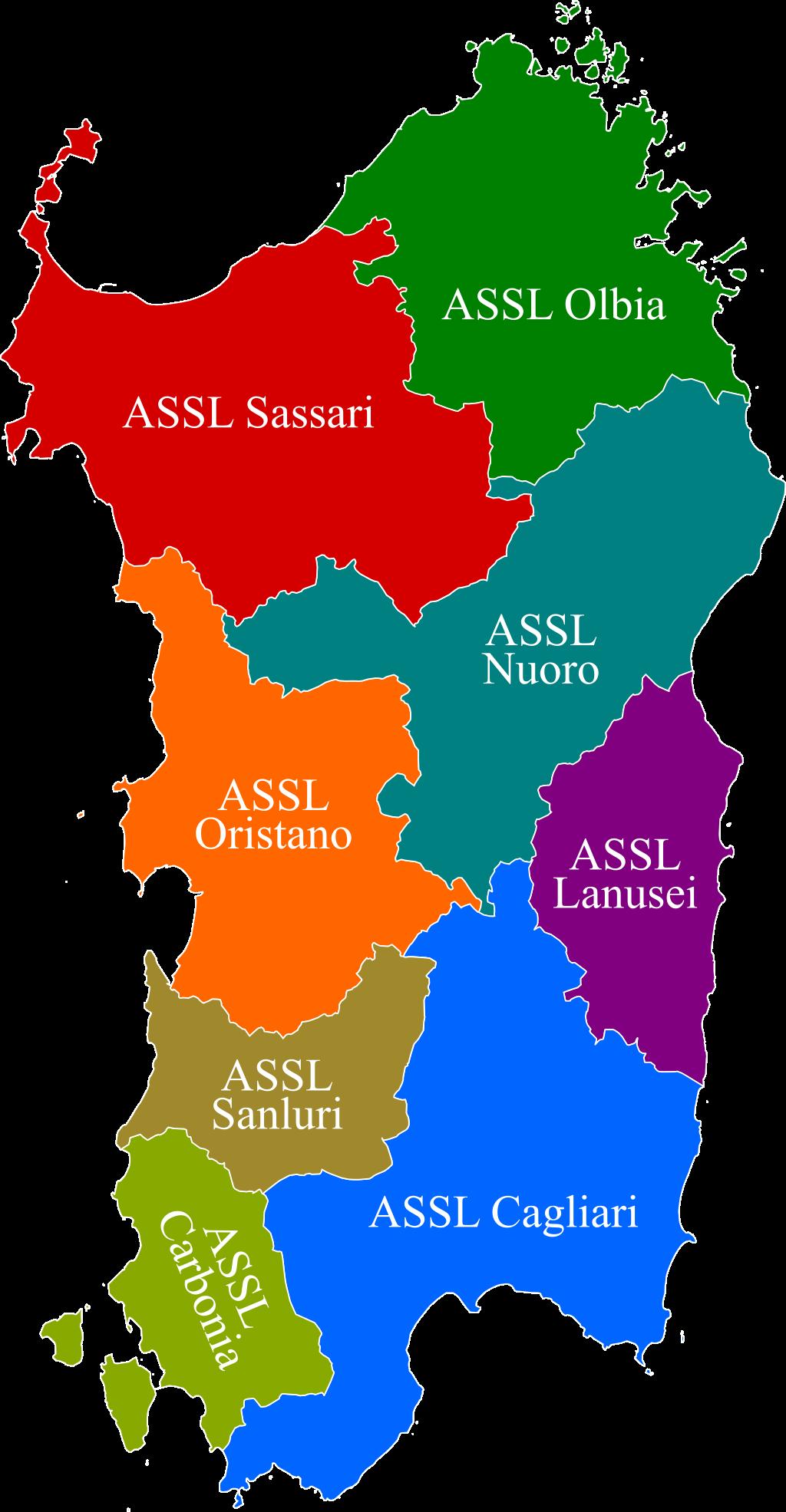 Cartina Sardegna 2017.File Organizzazione Territoriale Del Ssr Della Sardegna 2017 Png Wikipedia