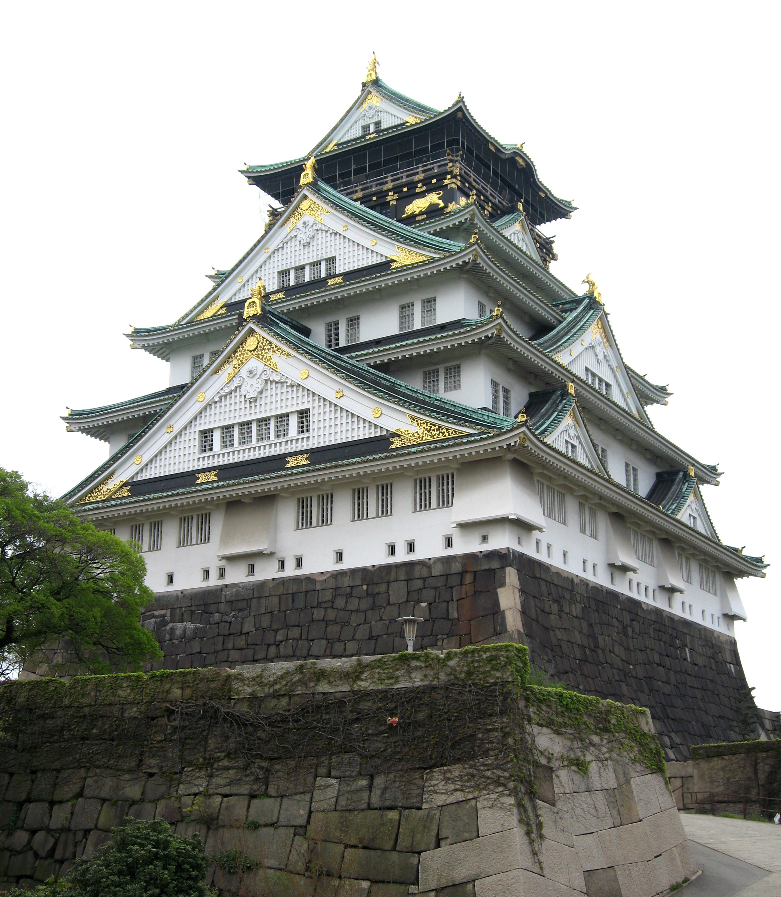 File:Osaka jo Castle.jpg - Wikimedia Commons