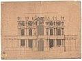Pöppelmann, Matthäus Daniel Erster Vorentwurf zum Wallpavillon Dresden 1713.jpg