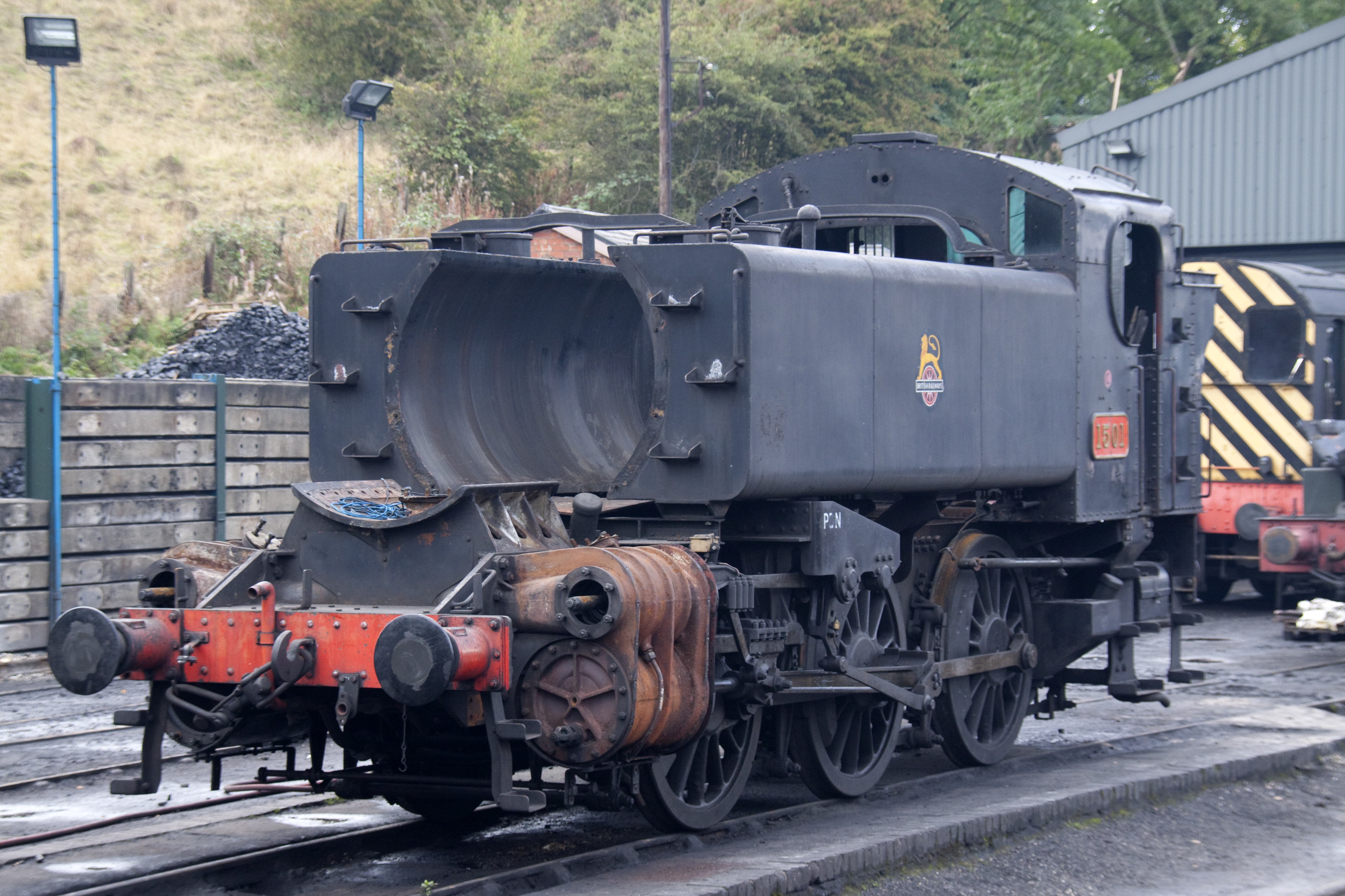 File:Pannier Tank engine 1501 at Bridgenorth.jpg