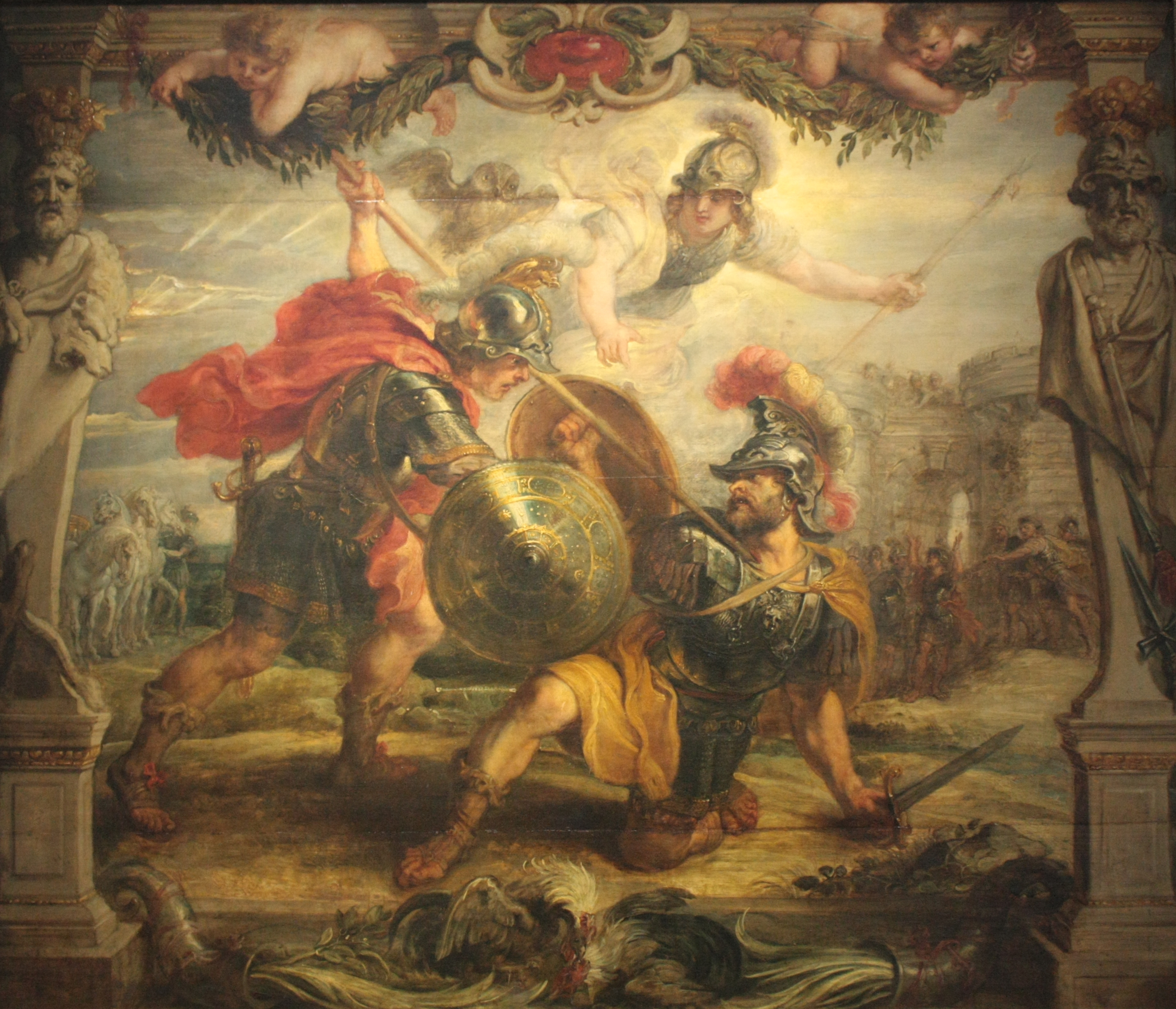 File Peter Paul Rubens Achille Vainqueur D Hector 01 Jpg Wikimedia Commons