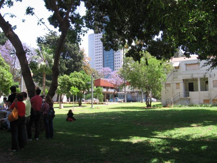 המושבה שרונה בתל-אביב