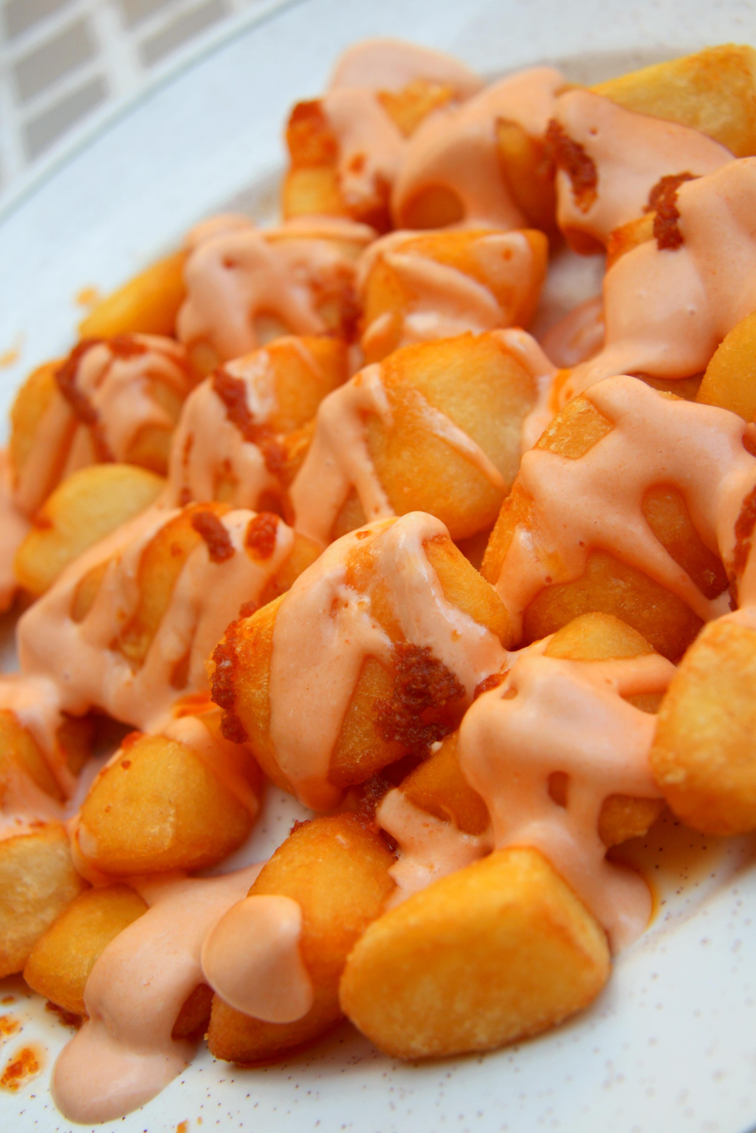 patatas bravas patatas bravas with allioli patatas bravas with ...