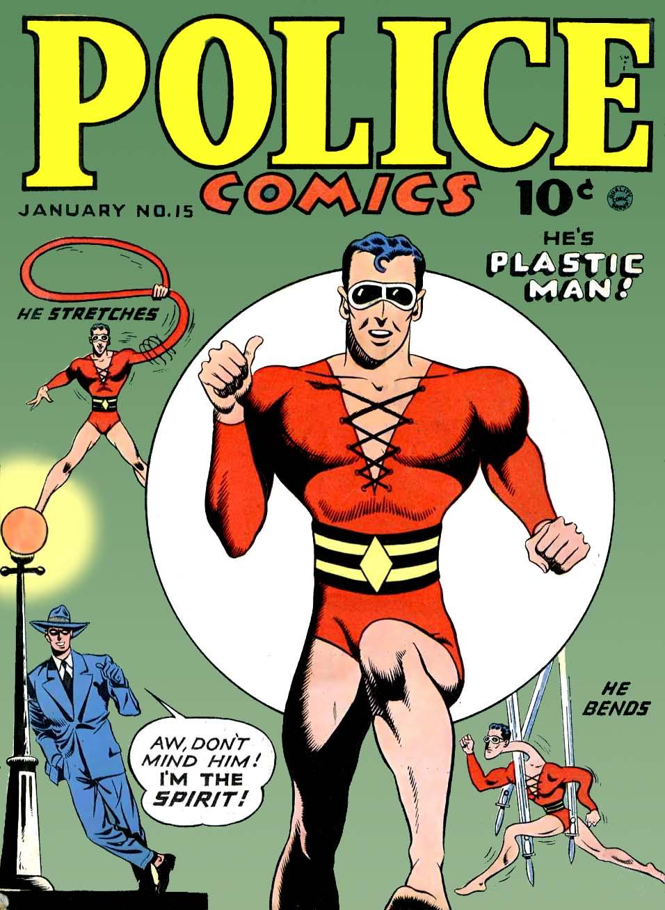 Plastic Man Wikipedia