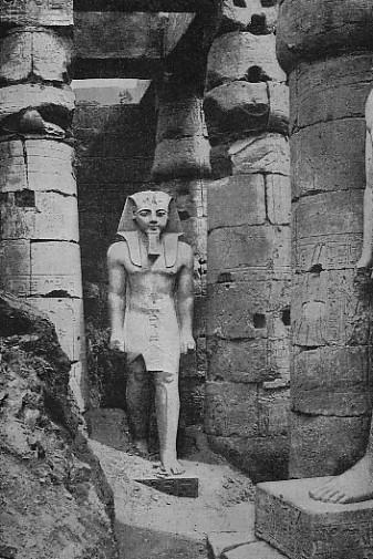 Statue of Ramses II at Luxor