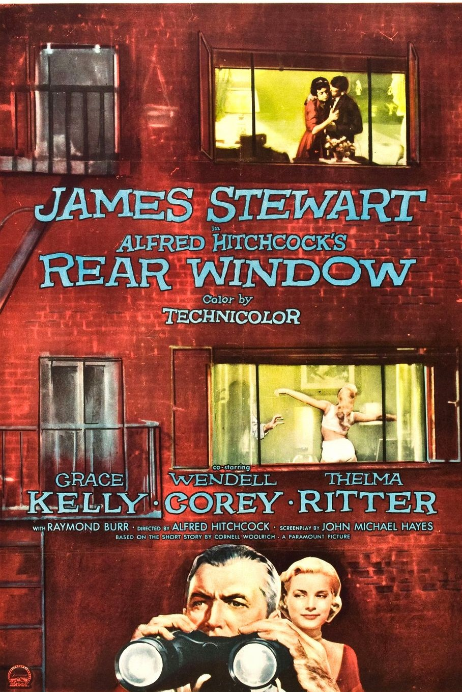 Rear Window full movie (1954)